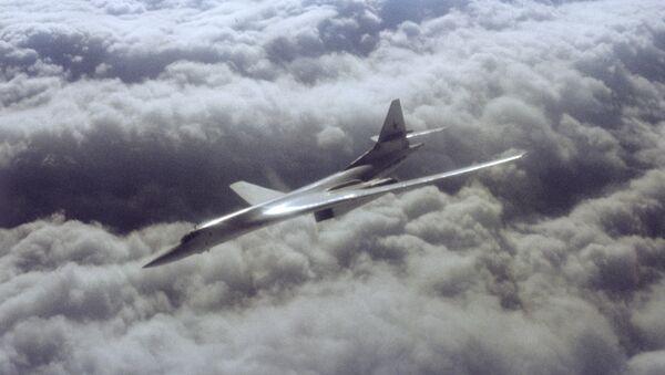Un bombardier stratégique russe Tu-160 - Sputnik France