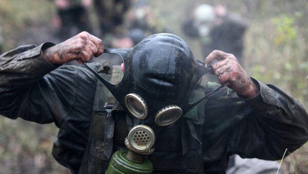 masque à gaz - Sputnik France