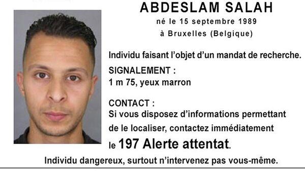 Salah Abdeslam - Sputnik France