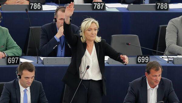 Marine Le Pen, présidente du FN - Sputnik France