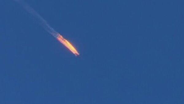 Le Su-24 russe, abattu près de la frontière turque en Syrie - Sputnik France