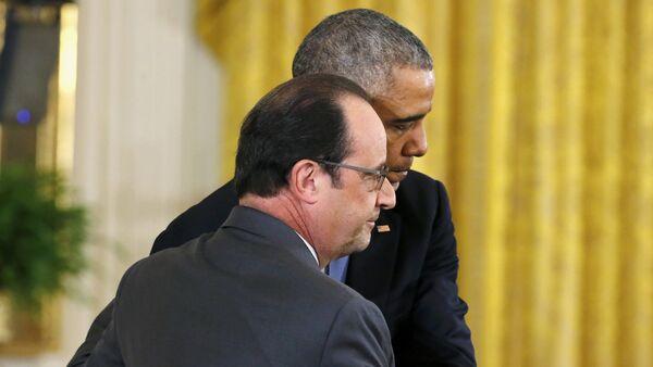 Barack Obama et François Hollande, Nov. 24, 2015. - Sputnik France