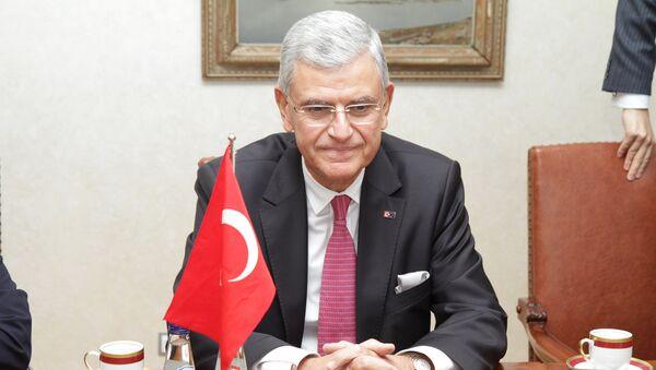 Le ministre turc des Affaires européennes Volkan Bozkir - Sputnik France