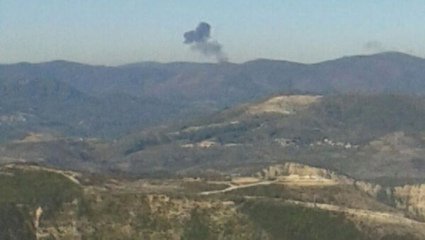 Crash du Su-24, abattu par l'aviation turque - Sputnik France