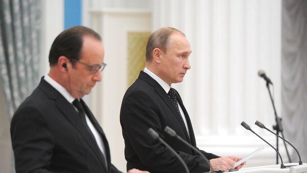 Poutine et Hollande prônent une large coalition contre l'Etat islamique - Sputnik France