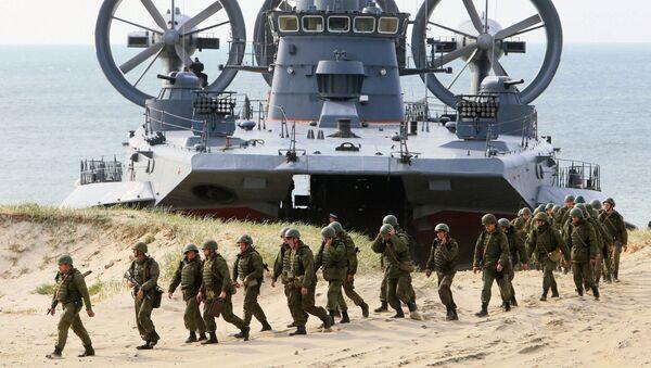 La Mort Noire, l'infanterie de marine russe - Sputnik France
