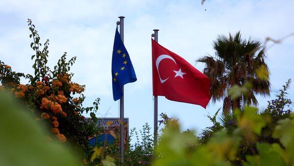 Курортный поселок Олу Дениз в провинции Мугла на Юго-Западе Турции - Sputnik France