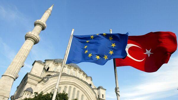 la Turquie et l'UE - Sputnik France