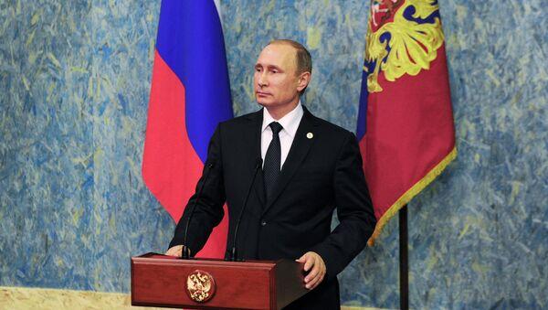 Visite de travail du président russe Vladimir Poutine à la République française - Sputnik France