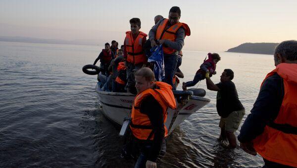 Les réfugiés syriens en Grèce - Sputnik France