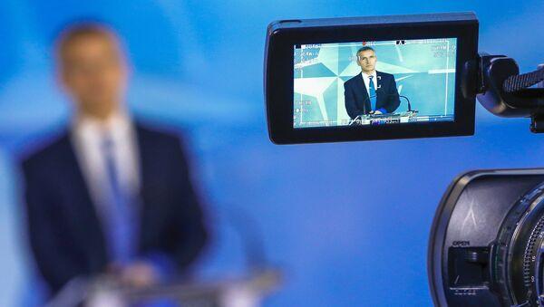 Le secrétaire général de l'Otan, Jens Stoltenberg. - Sputnik France