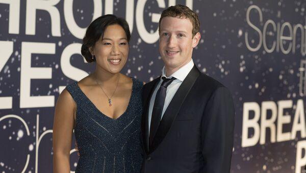 Priscilla Chan et Mark Zuckerberg - Sputnik France