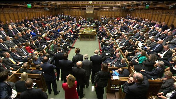 British lawmakers in the Houses of Parliament - Sputnik France