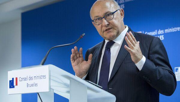 Le ministre des Finances Michel Sapin - Sputnik France