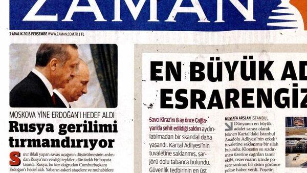 Journal turc Zaman - Sputnik France