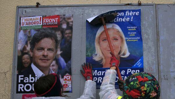 En France, 28% d'intentions de vote pour l'extrême droite avant les régionales - Sputnik France