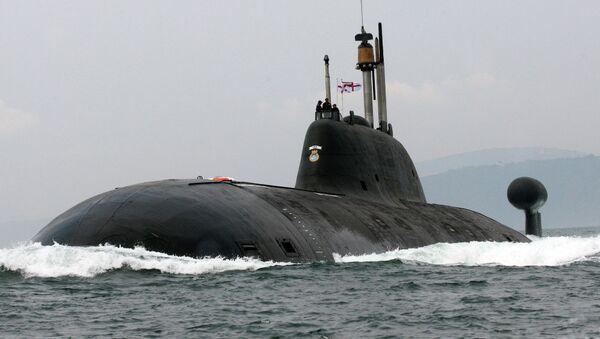L'INS Chakra, sous-marin nucléaire de la Marine indienne - Sputnik France
