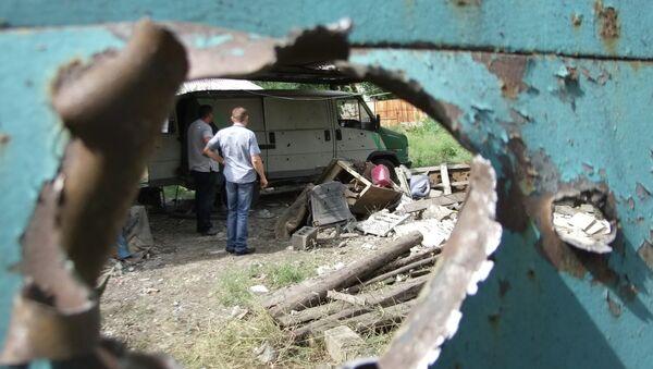 Le bombardement de Donetsk - Sputnik France