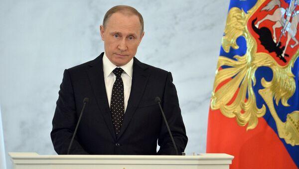 Poutine est dans la short-list pour le titre de Personnalité de l'année du Time - Sputnik France