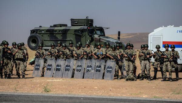 Armée turque à la frontière avec la Turquie - Sputnik France