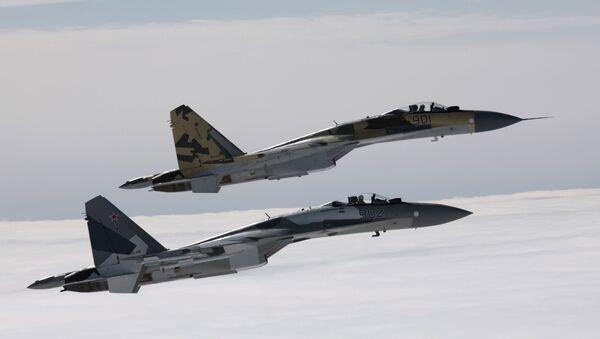 Les Su-34 et Su-35, fierté des forces aérospatiales russes - Sputnik France
