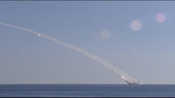 Un sous-marin russe tire des missiles Kalibr contre Daech depuis la Méditerranée - Sputnik France