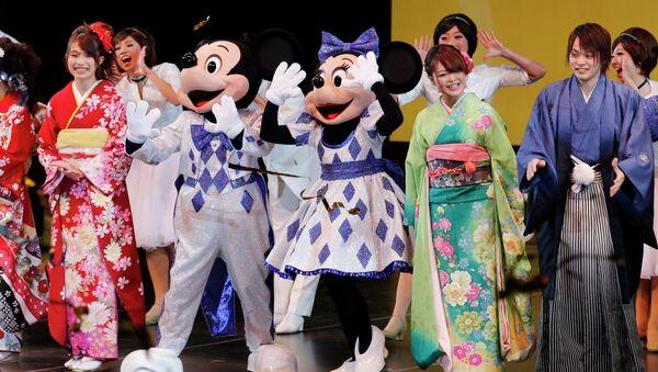Disneyland japonais. - Sputnik France