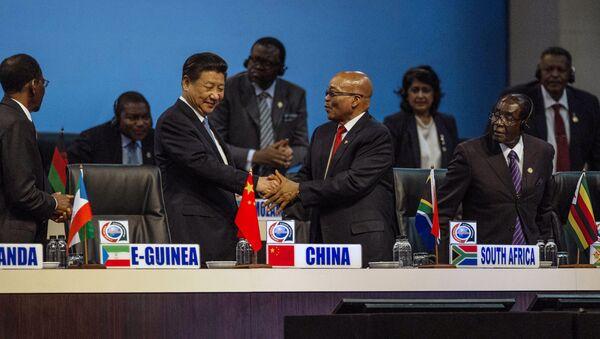 Le sommet Chine-Afrique ,Johannesburg - Sputnik France