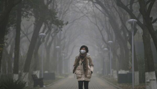 Pollution record à Pékin - Sputnik France