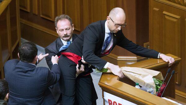 Premier ministre de l'Ukraine Arseni Iatseniouk - Sputnik France