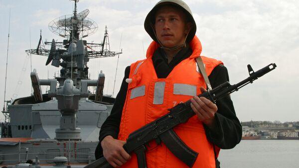 Le navire de guerre russe Smetlivy - Sputnik France