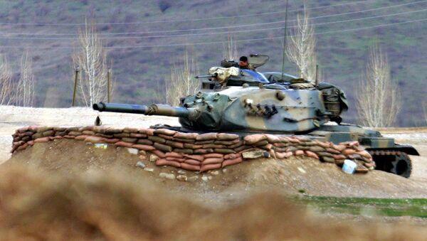 Un char de l'armée irakienne, Irak du nord - Sputnik France