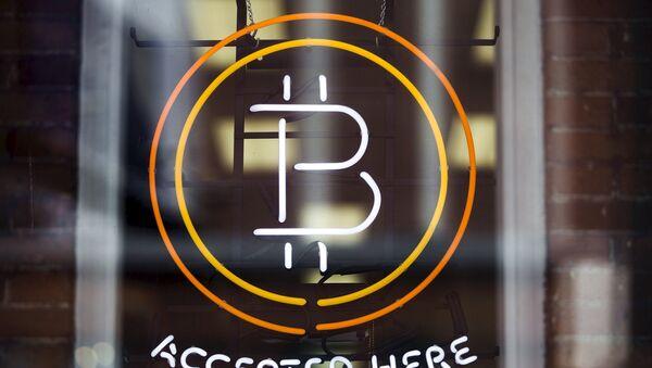 Un signe de Bitcoin - Sputnik France