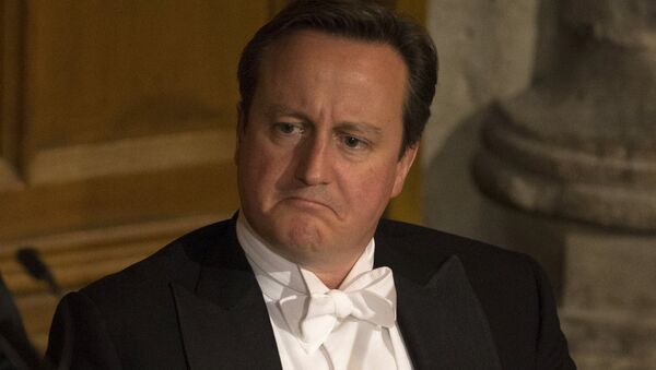 Britain's Prime Minister David Cameron - Sputnik France