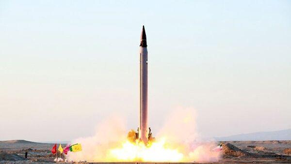 Un missile balistique iranien - Sputnik France