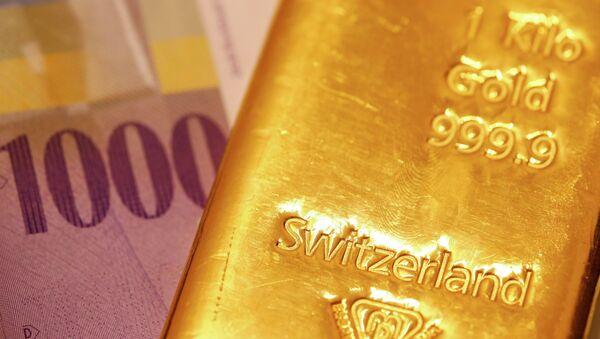 Francs suisses, or - Sputnik France