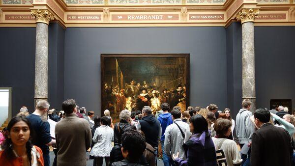 La Ronde de nuit, Rijksmuseum, musée d'Amsterdam - Sputnik France