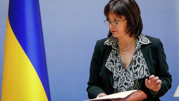 La ministre ukrainienne des Finances Natalie Jaresko - Sputnik France
