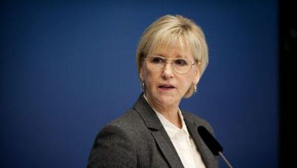 Margot Wallström, chef de la diplomatrie suédoise - Sputnik France