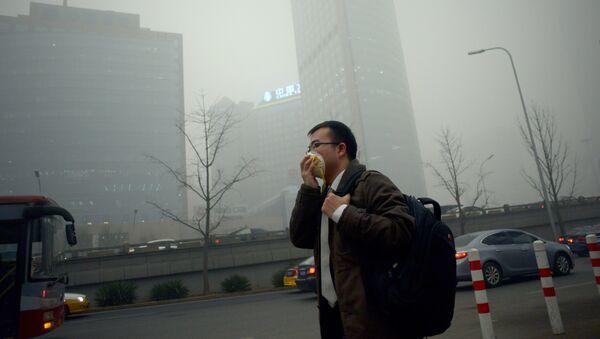 Smog à Pékin - Sputnik France