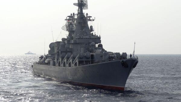 Navire de guerre russe en Méditerranée - Sputnik France