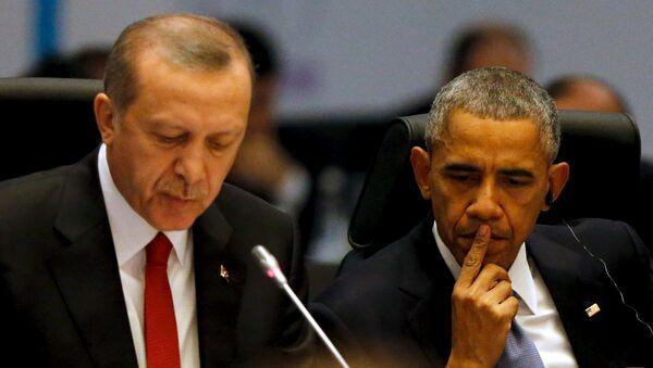 Erdogan Obama - Sputnik France