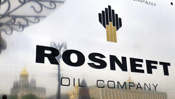Logo de la société pétrolière russe Rosneft - Sputnik France