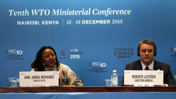 La dixième conférence ministérielle de l'OMC à Nairobi - Sputnik France