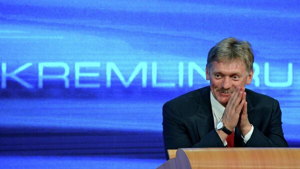 Dmitri Peskov, porte-parole du président russe - Sputnik France