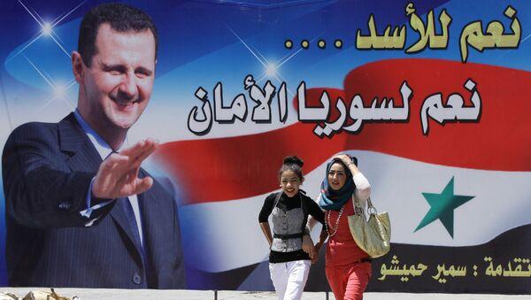 Bashar al-Assad - Sputnik France