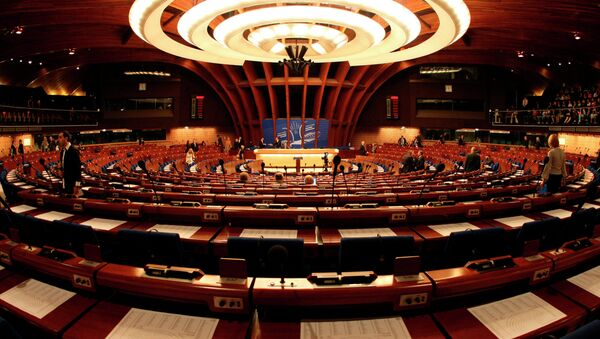 General view of the plenary room of the Council of Europe in Strasbourg, eastern France - Sputnik France
