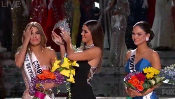 Scandale lors du concours Miss Univers 2015 - Sputnik France