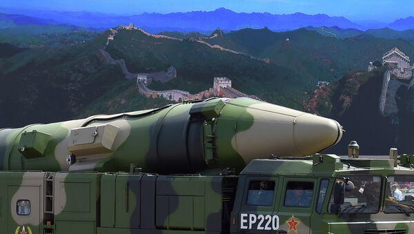 Chine: tir d'essai d'un nouveau missile balistique intercontinental - Sputnik France