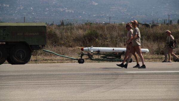 Militaires russes à Lattaquié - Sputnik France